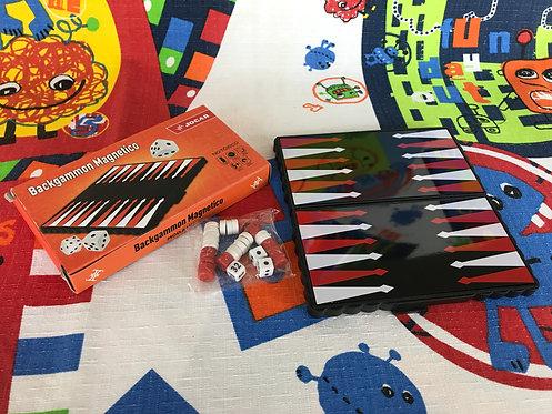 Backgammon magnético mini