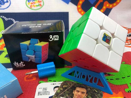 3x3 Moyu Meilong magnético stickerless