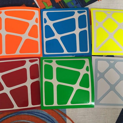 Stickers Crazy Yileng vinil half bright