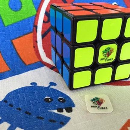 Logo 3x3 Brick Cubes