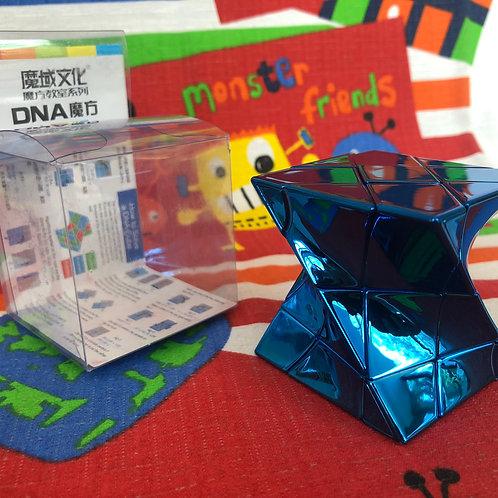 Moyu Windmill 3x3 DNA azul metálico