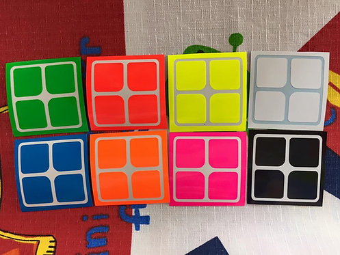 Stickers 2x2 vinil full bright