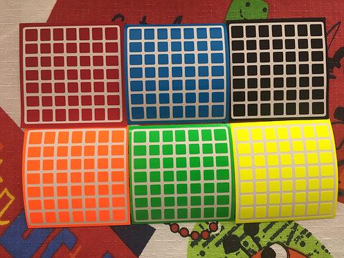 Stickers 7x7 Shengshou mini vinil half bright