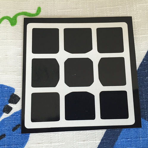 Cara 3x3 Tanglong vinil negro