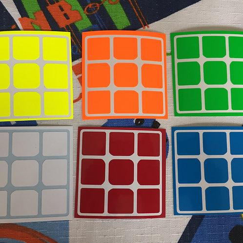 Stickers 3x3 Aolong GT vinil half bright