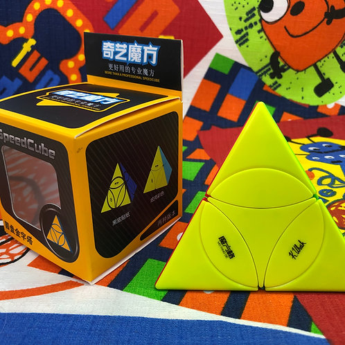 QiYi Coin Tetrahedron Pyraminx stickerless