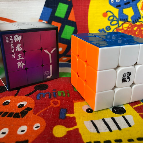 3x3 YJ Yulong v2 M magnético stickerless colored