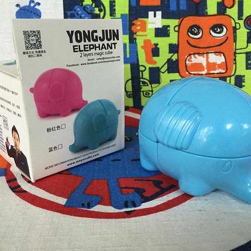 YJ 2x2 Elefante azul