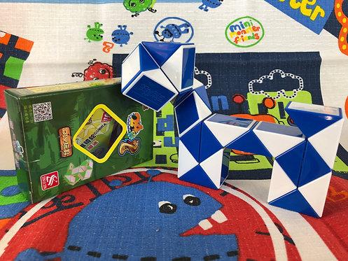 Z Twisty snake azul 24 piezas