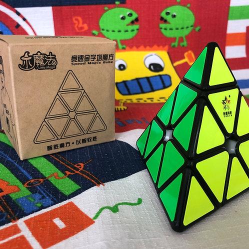 Yuxin Pyraminx Little Magic base negra
