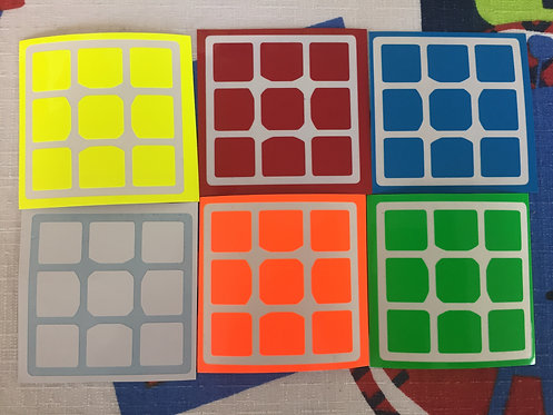 Stickers 3x3 Tanglong vinil half bright