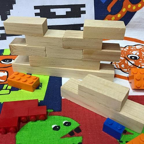 Puzzle Muro de madera