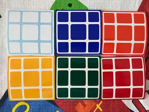 Stickers 3x3 Mixup vinil colores estándar