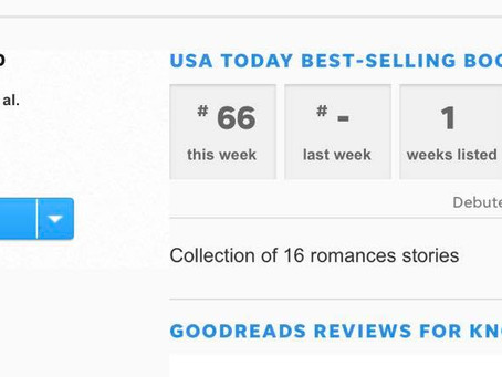 I Just Became a USA Today Best-Selling Author