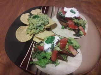BBQ taco plate