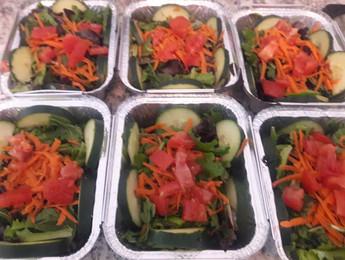Standard green side salads