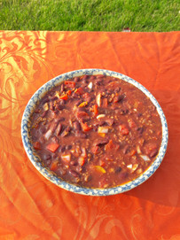 Traditional style chili