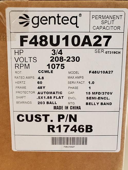 R1746B Condenser Fan Motor 230V