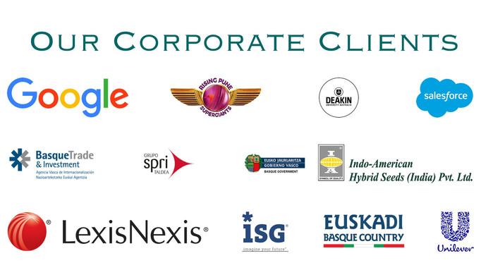 Google IPL Deakin SalesForce HUL Unilever Corporate clients
