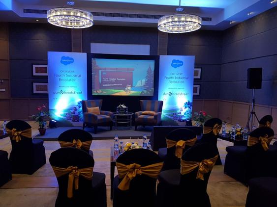 Event set up for Salesforce