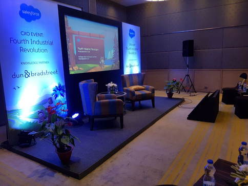 Corporate event for Salesforce