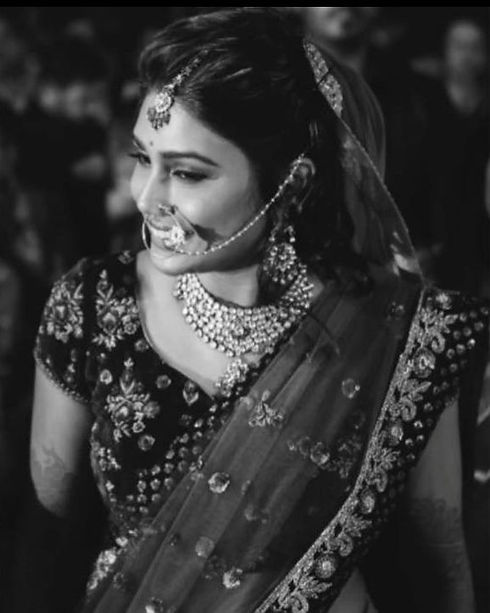 Indian bride at her wedding in Bangalore