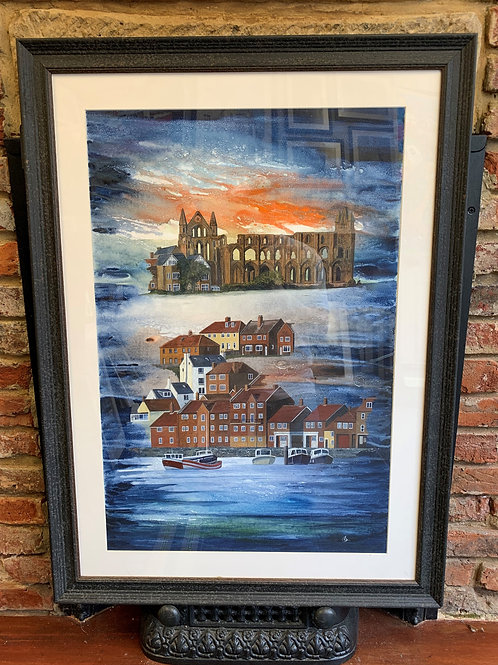 'Whitby Abbey From River Esk' By David Hume