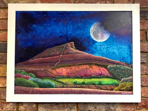 'Out Of The Shadows Roseberry Topping ' By Bridget Wilkinson