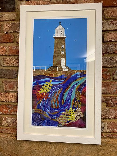 'East Pier Whitby' By Bridget Wilkinson