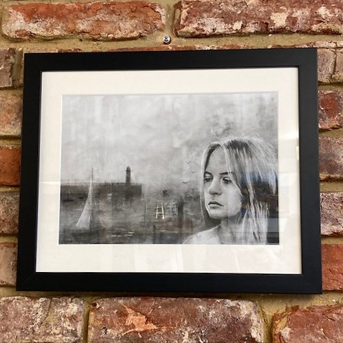 'Left Pier Girl' By Shaun Tymon