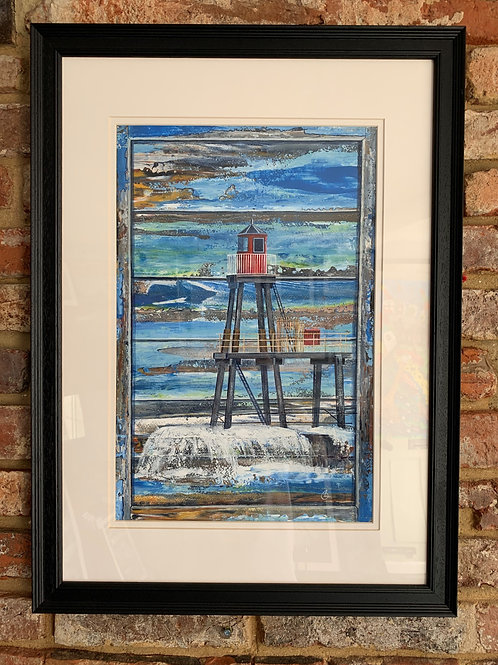'Window Shutter East Pier Beacon Whitby' By David Hume