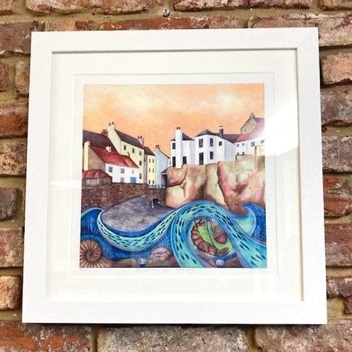 'Sunset Over Robin Hoods Bay' By Bridget Wilkinson