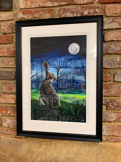 'Moongazing Hare' By David Hume