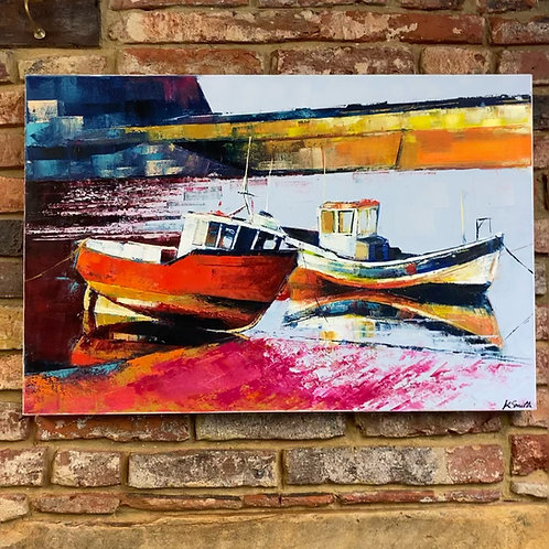 'Staithes Tide' By Kate Smith
