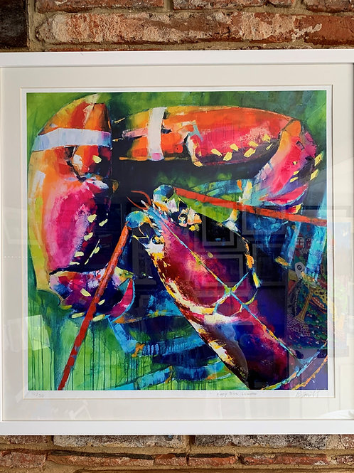 'Lobster' Limited Edition Print By Kate Smith