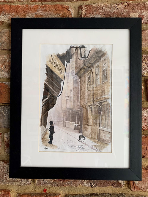 'The Shambles York 1890' By David Hume