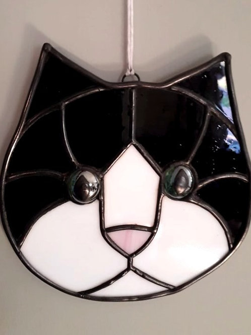 'Hanging Black Cat' By Karen Hopper