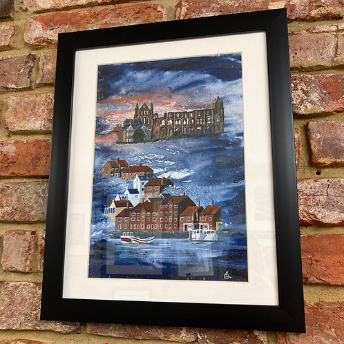 'Whitby Abbey Over River Esk' By David Hume