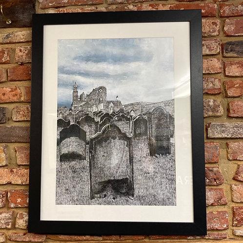 'Abbey & Gravestones' By Darren Cairney