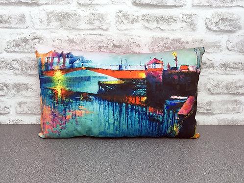 'Swing Bridge Reflection' Cushion