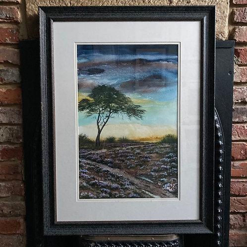 'Moorland Heather' By David Hume