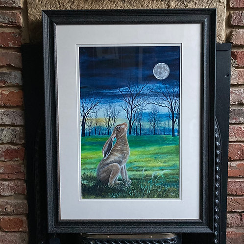 'Moongazing Hare 3' By David Hume