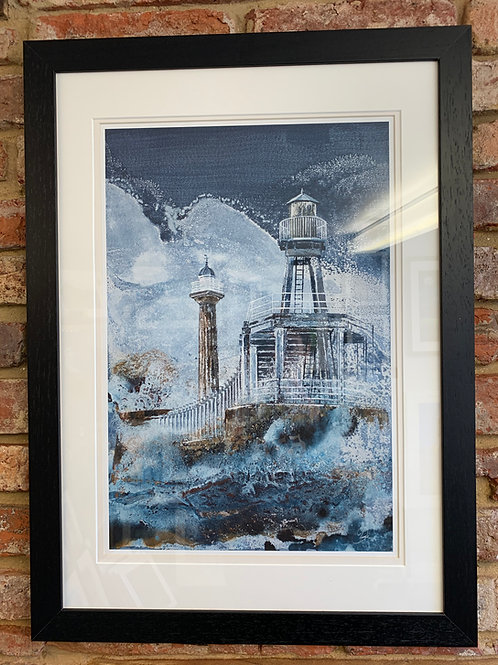 'Whitby West Pier' By David Hume