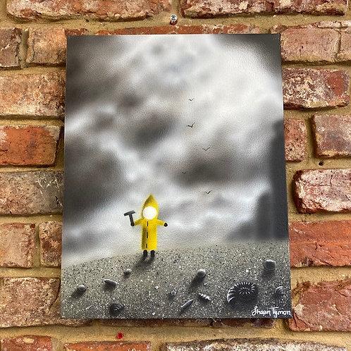 'Bod with Hammer' By Shaun Tymon