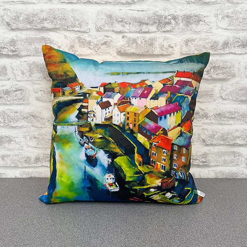 'Down In The Beck' Cushion
