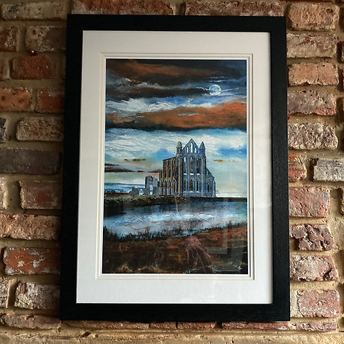'Whitby Abbey Autumn Dusk' By David Hume