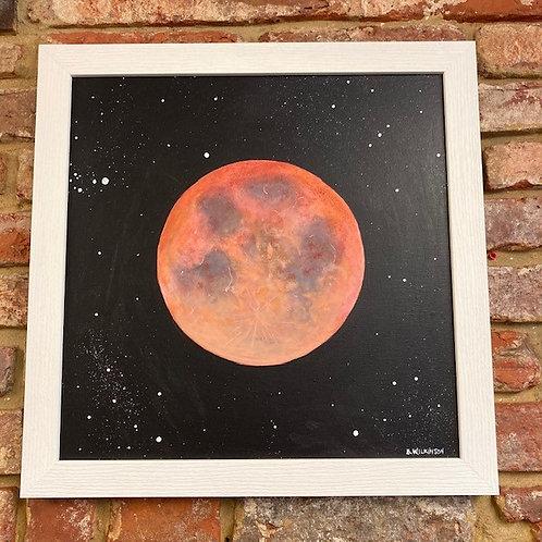 'Super Blood Wolf Moon' By Bridget Wilkinson