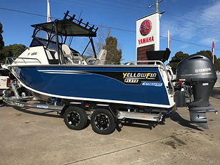Yellowfin 6500 Foling Hard Top