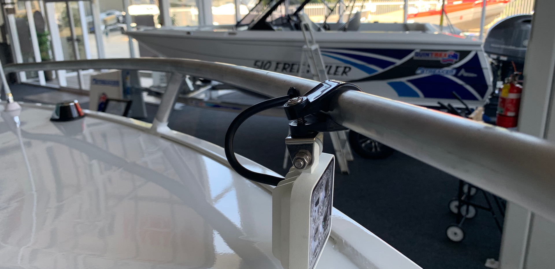 Quintrex 530 Fishabout at Streaker Marine
