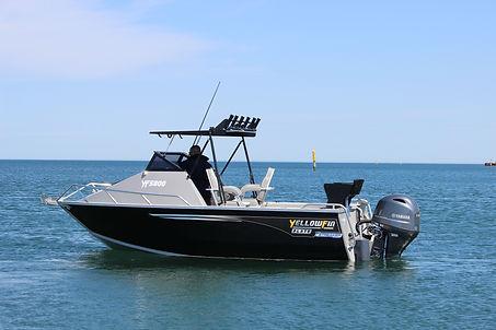 Yellowfin 5800 Folding Hard Top at Streaker Marine